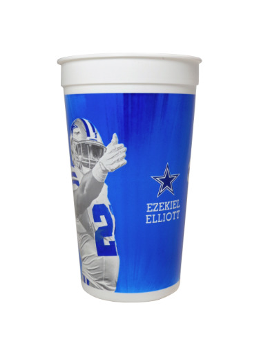 Dallas Cowboys Ezekiel Elliott 7-11 Cup