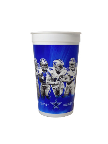 Dallas Cowboys 7-11 Combo cup