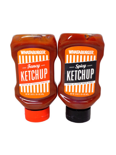 Whataburger Ketchup Variety Pack