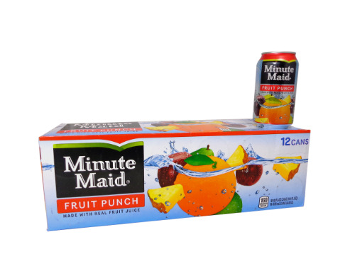12 pack Minute Maid Fruit Punch