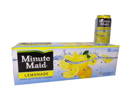 12 pack Minute Maid Lemonade