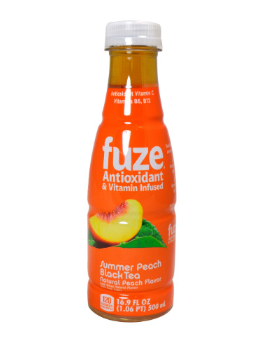 Fuze Peach Black Tea