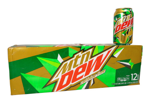 12 Pack Caffeine Free Mountain Dew