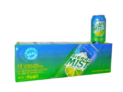 12 Pack Sierra Mist Lemon Lime