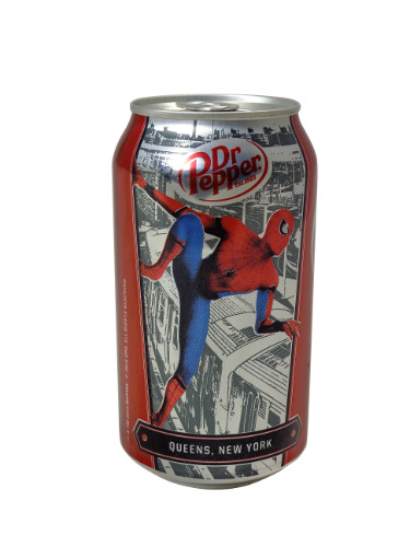 Dr Pepper Spiderman Queens