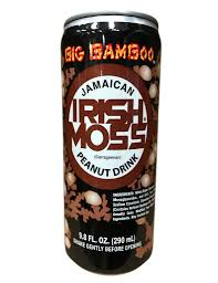 9.8oz Big Bamboo Irish Moss Peanut