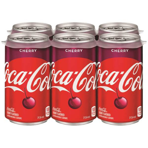6 pack 7.5oz Coke Cherry