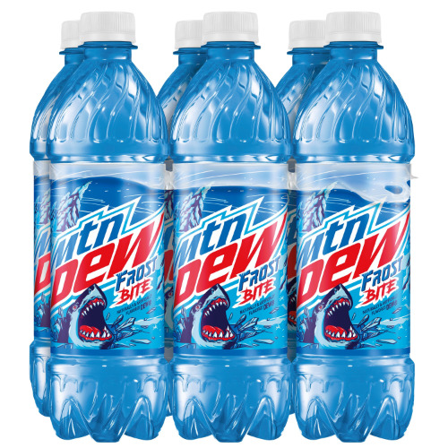 6 pack 16.9oz Mountain Dew Frost Bite