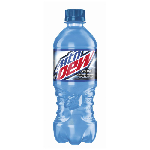 20oz Mountain Dew Voltage-New