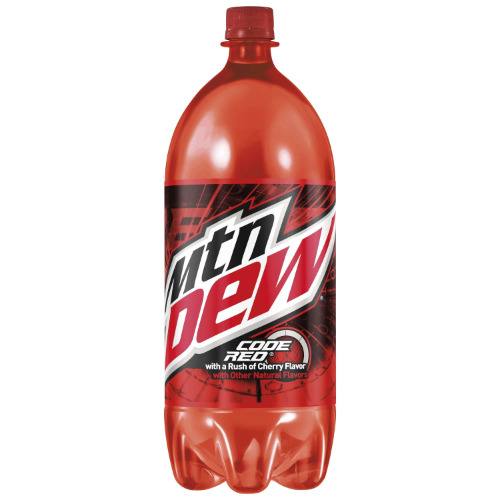 2 Liter Mountain Dew Code Red