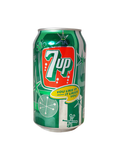 7-Up 1950s Can