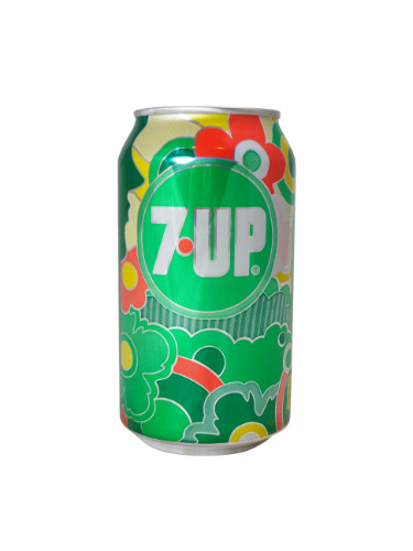 7-Up 1960s Can