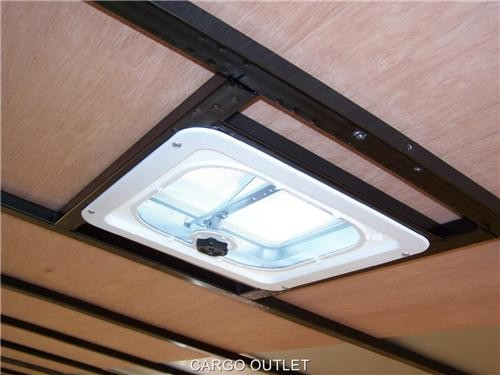 Additional Roof Vent Diamond Cargo Outlet