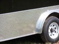"Add 24"" ATP  Chrome or Black (Aluminum Tread Plate) Sides and Rear to Trailer"