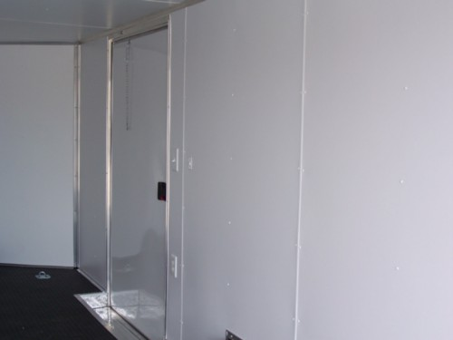 Walls White Vinyl Walls X Trailer Length Diamond Cargo Outlet