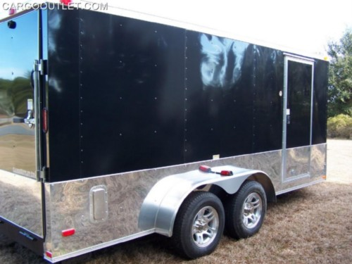 "Add 24"" Anodized Sides and Rear to Trailer"