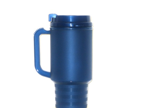 1 NAVY TRAVEL MUG GOOD ONE