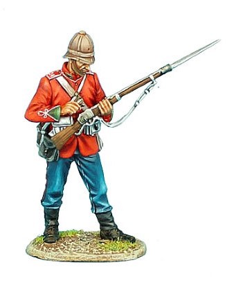 First Legion ZUL011: British 24th Foot Standing Loading Variant #2