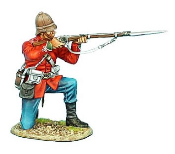 First Legion ZUL013: British 24th Foot Kneeling Firing Variant #1