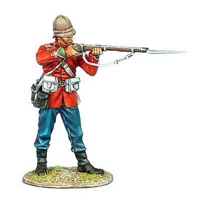 First Legion ZUL014: British 24th Foot Standing Firing Variant #3