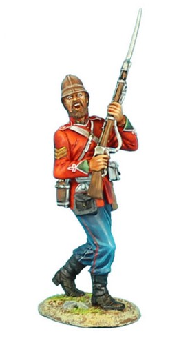 First Legion ZUL003: British 24th Foot NCO