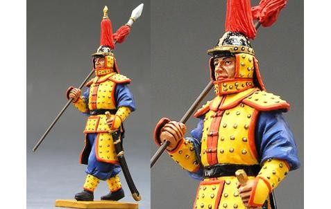 King and Country IC013: Marching Guard with Spear