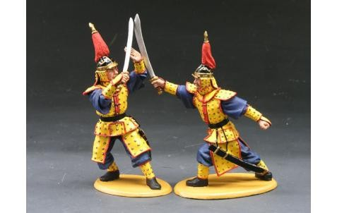 King and Country IC031: Sword Practice (2 figures)