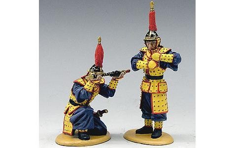 King and Country IC032: Making Ready to Battle (2 figures)