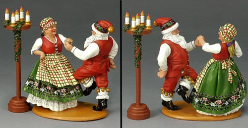 King and Country XM009-02: Mr. & Mrs. Claus having fun!