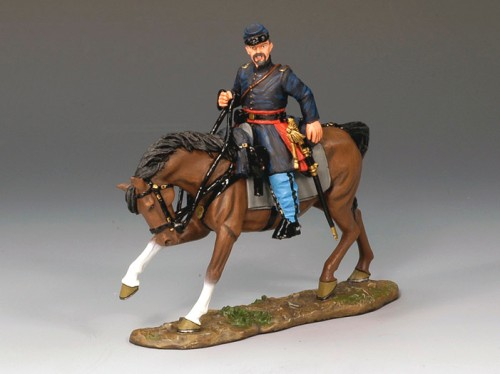 King and Country CW038: Mounted Union Officer - RETIRED