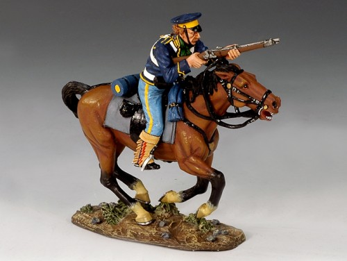 King and Country TRW001: Mounted Dragoon w/ Rifle
