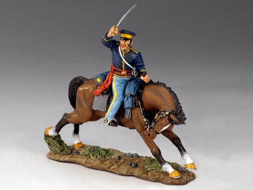 King and Country TRW003:  Mounted Dragoon w/ Sword