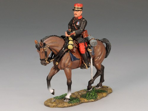 King and Country FW062: French Mounted Officer - RETIRED