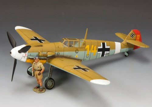 King and Country AK071: (SL) Hans-Joachim (Jochen) Marseille & his Bf 109
