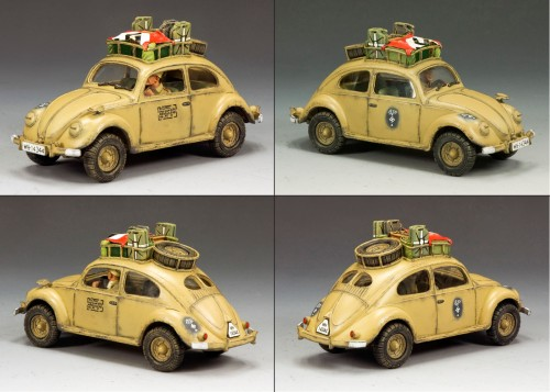 King and Country AK074: Afrika Korps Volkswagen (Only 250 produced) - RETIRED
