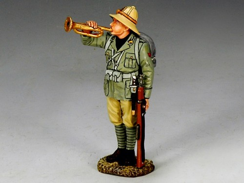 King and Country IF006: Italian Forces, At Attention Bugler