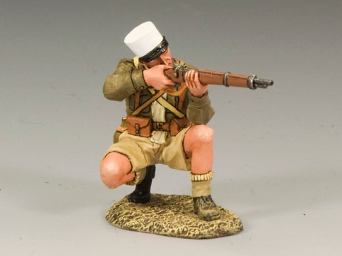 King and Country EA053: Free French Foreign Legionnaire Kneeling Firing Rifle