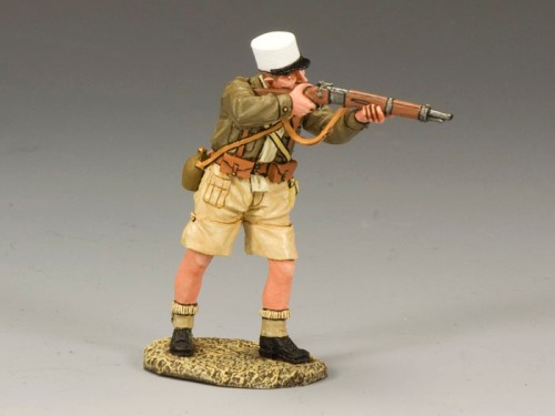 King and Country EA054: Free French Foreign Legionnaire Standing Firing Rifle