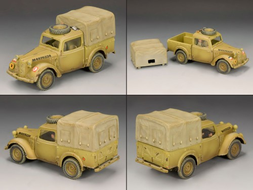 King and Country EA056: Austin Light Utility Truck (only 250) - RETIRED
