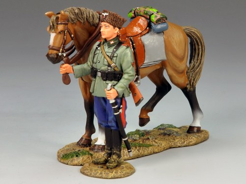 King and Country WS147: Standing Cossack and Horse - RETIRED