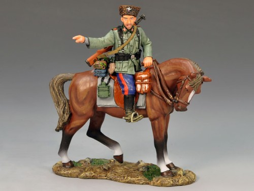 King and Country WS148: Mounted Cossack Pointing - RETIRED