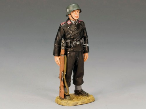 King and Country WS156: Panzer Crewman on Parade - RETIRED