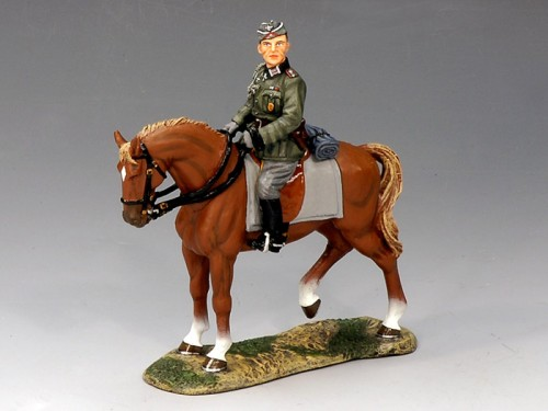 King and Country FOB055: German Mounted Adjutant - RETIRED