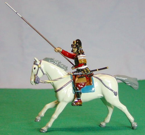 Monarch Regalia 272: Konishi Samurai - Charging on horseback - (to lead #279)