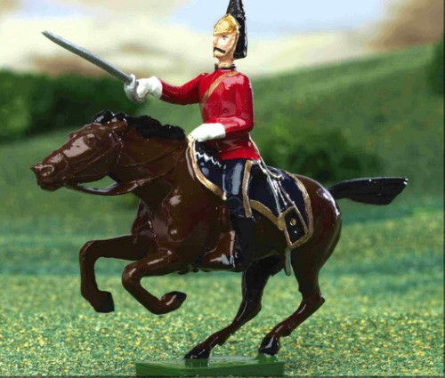 Britains 40199: Royal Scots Greys Mounted - 2002