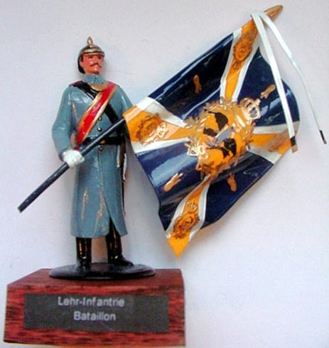 Pickelhaube Miniatures F18: Flag of the Lehr-Infantrie Bataillon