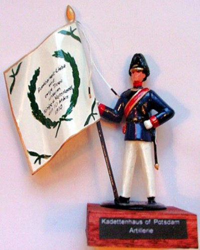 Pickelhaube Miniatures F88: Flag of the Kadettenhaus of Potsdam (Artillery)