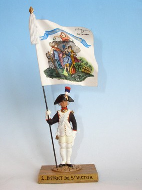 Guy Renaud Standard Bearers GNP02: District de Saint Victor