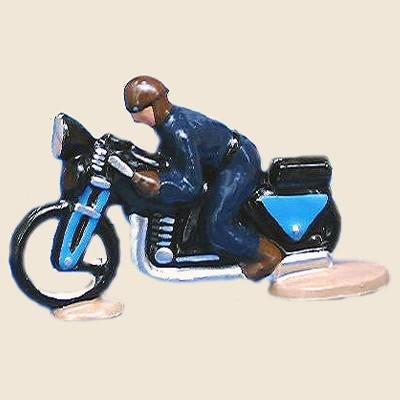 Mignot 6852_DB: Official Motorcycle Guide - Dark Blue