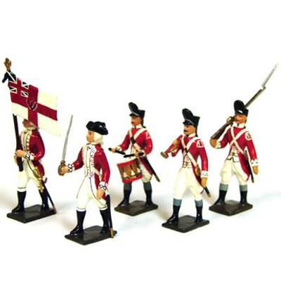 Mignot 125: English Grenadiers 33rdRegiment 1776: O,F,D + 9 Riflespage 170 INF12